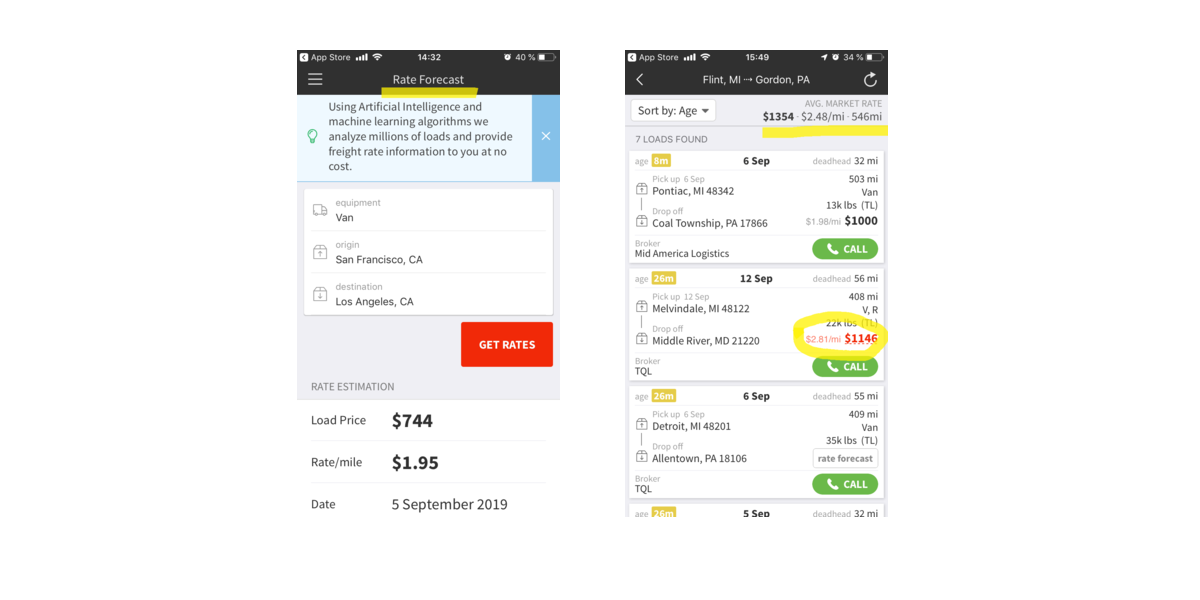Doft Free Rate Check Tool